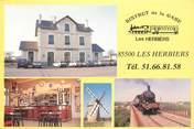 """85 Vendee CPSM FRANCE 85 """"Les Herbiers, Restaurant le Bistrot de la gare"""""""