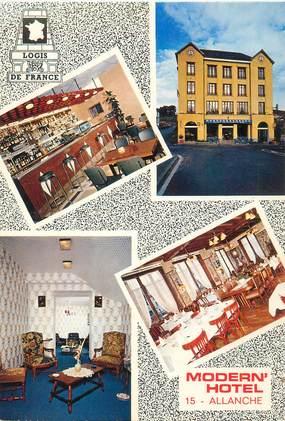 "CPSM FRANCE 15 ""Allanche, Modern'Hotel"""