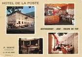 """64 PyrÉnÉe Atlantique CPSM FRANCE 64 """"Les Eaux Bonnes, Hotel de la Poste & Abbadie"""""""