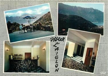 """CPSM FRANCE 20 """"Corse, Serriera, Hotel L'Aiglon"""""""