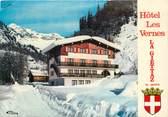 """73 Savoie CPSM FRANCE 73 """"La Giettaz, Hotel Les Vernes"""""""