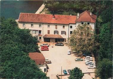 """CPSM FRANCE 38 """"Morestel, Restaurant Auberge de Roche Plage"""""""