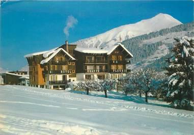 "CPSM FRANCE 74 ""Morzine, Hotel Champs Fleuris"""