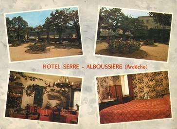 """CPSM FRANCE 07 """"Alboussière, Hotel Serre"""""""
