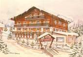 """74 Haute Savoie CPSM FRANCE 74 """"La Clusaz, Hotel Cytheria"""""""