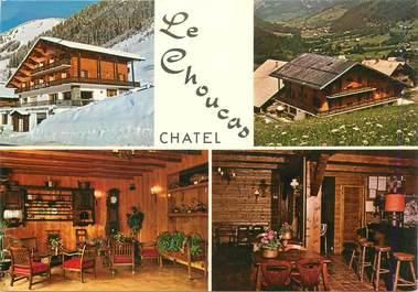 "CPSM FRANCE 74 ""Chatel, Hotel le Choucas"""