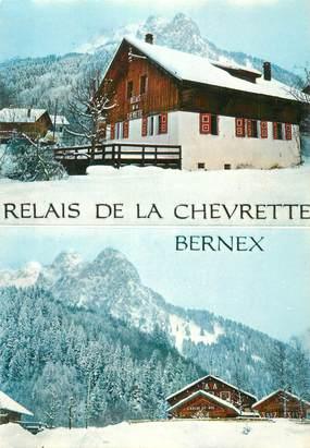 """CPSM FRANCE 74 """"Bernex, Restaurant le Relais de la Chevrette"""""""