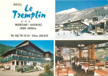 "CPSM FRANCE 74 ""Morzine, Hotel le Tremplin"""