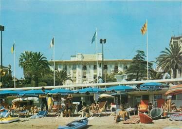 """CPSM FRANCE 83 """"Saint Raphaël, Hotel de la plage et de Méditerranée"""""""