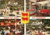 """64 PyrÉnÉe Atlantique CPSM FRANCE 64 """"Urdos, Hotel Restaurant des Voyageurs"""""""