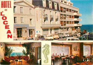 """CPSM FRANCE 35 """"Saint Malo, Plage de Rochebonne, Hotel l'Océan"""""""