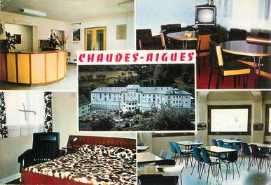 "CPSM FRANCE 15 ""Chaudes Aigues"""
