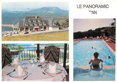 "CPSM FRANCE 15 ""Saint Flour, Hotel le Panoramic"""