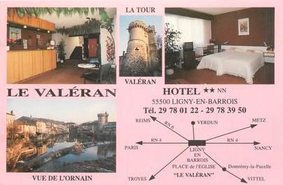 "CPSM FRANCE 55 ""Ligny en Barrois, Hotel le Valéran"""