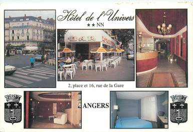 """CPSM FRANCE 49 """"Angers, Hotel de l'Univers"""""""