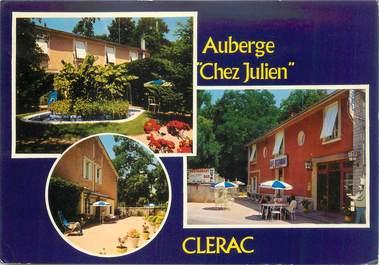 """CPSM FRANCE 17 """"Clérac, Auberge Chez Julien"""""""