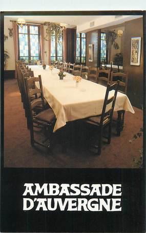 "CPSM FRANCE 75003 ""Paris, Restaurant Ambassade d'Auvergne"""