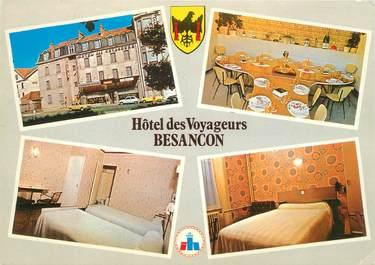 "CPSM FRANCE 25 ""Besançon, Hotel des Voyageurs"""