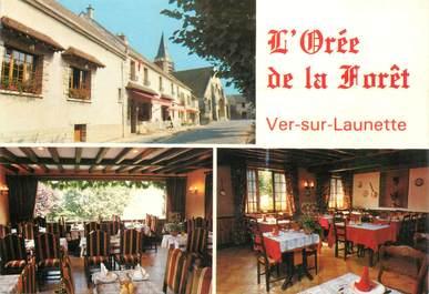 """CPSM FRANCE 60 """"Ver sur Launette, Restaurant L'Orée de la Foret"""""""