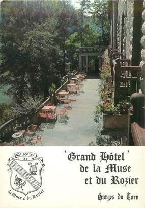 "CPSM FRANCE 12 ""Peyreleau, Hotel de la Muse"""