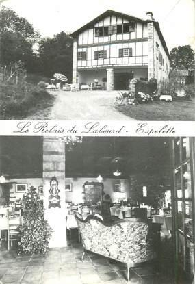"""CPSM FRANCE 64 """"Espelette, Restaurant le Relais du Labourd"""""""