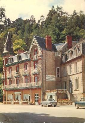 """CPSM FRANCE 61 """"Bagnoles de l'Orne, Hotel du Roc au chien"""""""
