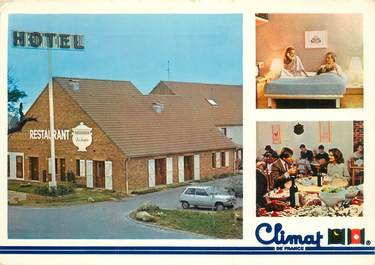 """CPSM FRANCE 91 """"Les Ulis, Hotel restaurant Climat de France"""""""