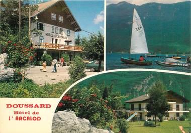 """CPSM FRANCE 74 """"Doussard, Hotel de l'Arcalod"""""""