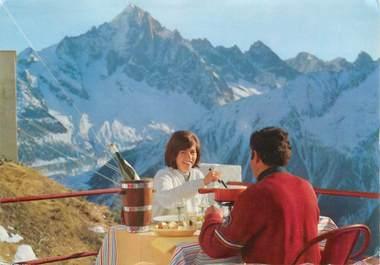 "CPSM FRANCE 74 ""Chamonix, Restaurant de Planpraz"""