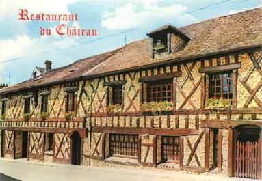 """CPSM FRANCE 78 """"Morainvilliers, Restaurant du Chateau"""""""