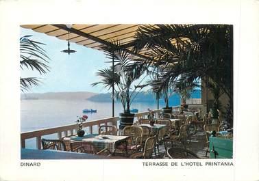 "CPSM FRANCE 35 ""Dinard, Terrasse de l'Hotel Printania"""