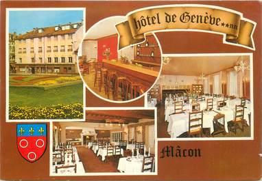 "CPSM FRANCE 71 ""Macon, Hotel de Genève"""