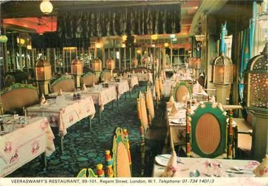 """CPSM ROYAUME UNI """"Londres, Restaurant Veeraswamy"""""""