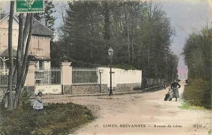 """CPA FRANCE 94 """"Limeil Brévannes, avenue de Cénac"""""""