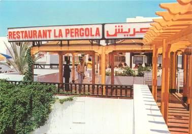 """CPSM TUNISIE """"Hammamet, restaurant La Pergola"""""""