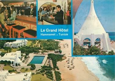 """CPSM TUNISIE """"Hammamet, Le Grand Hotel"""""""