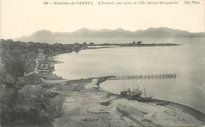 "CPA FRANCE 06 ""Cannes, Ile Sainte Marguerite"""