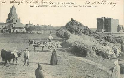 "CPA FRANCE 06 ""Cannes, Ile Saint Honorat, l'Abbaye"""