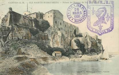 """CPA FRANCE 06 """"Cannes, Ile Sainte Marguerite, prison du masque de fer"""""""