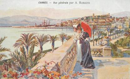 "CPA FRANCE 06 ""Cannes"" / CARTE DESSINÉE"