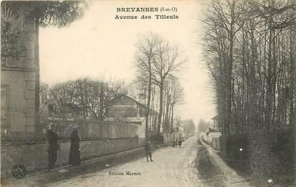 """CPA FRANCE 94 """"Brévannes, avenue des Tilleuls"""""""