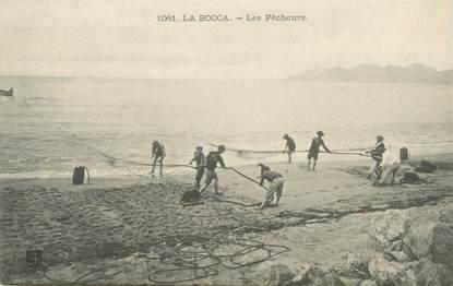 """CPA FRANCE 06 """"Cannes la Bocca, les pêcheurs"""""""
