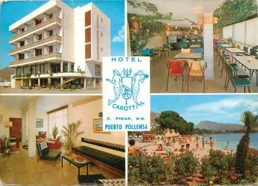 """CPSM ESPAGNE """"Puerto de Pollensa, Hotel Carotti"""""""
