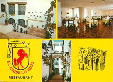 "CPSM ESPAGNE ""Cordoba, Restaurant El Caballo Rojo"""