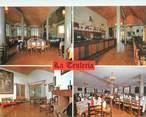"""Espagne CPSM ESPAGNE """"Sant Joan de les Abadesses, restaurant La Teuleria"""""""