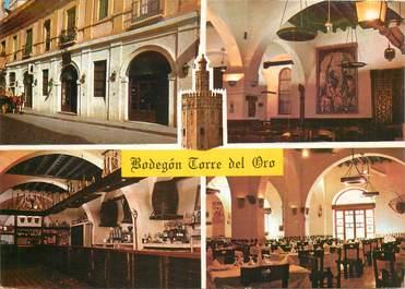 "CPSM ESPAGNE ""Seville, Restaurant Bodegon Torre Del Oro"""