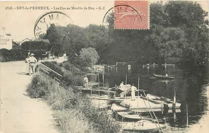 """CPA FRANCE 94 """"Bry le Perreux, les Iles au Moulin de Bry"""""""