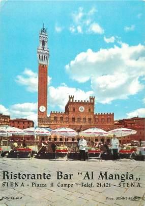 """CPSM ITALIE """"Siena, Restaurant Al Mangia"""""""