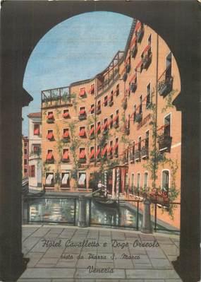 """CPSM ITALIE """"Venezia, Hotel Cavalletto"""""""