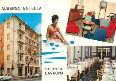 """CPSM ITALIE """"Genova, Lavagna, Auberge restaurant Entella"""""""
